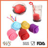 Ws-If063 Food Grade Silicone Rose Tea Infuser Leaf Strainer for Mug Cup, Tea Pot
