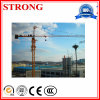 Qtz125 Tower Crane with 8-Ton Max Capacity and 60m Arm