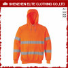 Custom 3m Reflective Fluo Orange Hi-Vis Hoodies (ELTHJC-390)