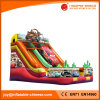 2017 New Inflatable Cartoon Car Slide (T4-210)