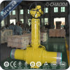 Fire Safe Fully Welded Ball Valve with Worm Gear Operation