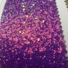 Stylish Synthetic Glitter PU Leather for Shoes Decoration Hw-1747