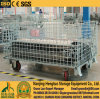 Roll Container Transport / Logistics Wir Mesh Container Trolley