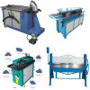 Air Duct Sheet Metal Elbow Lock Forming Machine