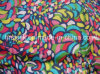 Silk Paj Screen Printed Fabric