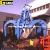Excavator Hydraulic Orange Peel Steel Scrab Grab