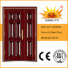 One and Half Leaf Steel Main Door (SC-S109)
