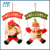 Santa Claus Snowman Tree Door Christmas Decoration for Home
