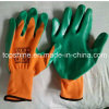 Professional Industrial Polyester Latex Coated Working Labor Protection Gloves