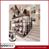 Vintage Display Showcases for Branded Handbag Store Interior Design