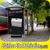 Modern and New Design Stainless Steel Bus Station Shelter