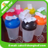 Transparent Children and Adults Custom Logo Juice Bottle (SLF-WB044)