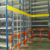 Mezzanine System Built by Racking