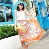 The New Polyester Chiffon Scarf Beach Dress Yellow