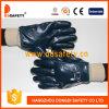 Ddsafety 2017 Blue Nitrile Fully Coating Work Glove