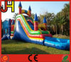 Inflatable Combo Slide with Pool for Sale