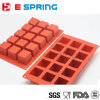 Nonstick Square Shape Silicone Cake Mould for Soap Making Chocolate Mold