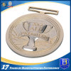 Gold Medal with Customer 3D Logo Engraving