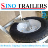 Galvanised 10X5 Tandem 2 Ton Hydraulic Tipper Tipping Plant Box Trailer & Cage