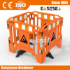 Plastic Road Safety Gate Work Barrier with Legs