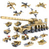 14884031-Building Blocks Military Weapons 16 Assemblage1 Super Tanks Self-Locking Bricks Brinquedos Toys
