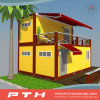 Luxury Flat Pack Container House as Prefabricated Living Home
