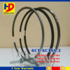 6CT 6CT8.3 Engine Piston Ring for Cummins Excavator Parts (3925878 3917707)
