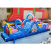 Bounce Jumping and Water Slide Inflatable Obstacle/Commercial Giant Inflatable Obstacle Course