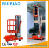 10 Meter Aluminium Alloy Aerial Lift Platform Single Mast Ce