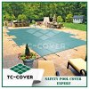 Plastic Swimming Pool Mesh Cover