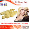 Blonde Brazilian Remy Human Hair Weft (18 inch-Body wave)