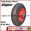 Three Wheel Wheelbarrow, Professional Factory Supply 4.00-8 Rubber Wheel.