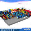 TUV Standard Approved Vasia Customzied Made Indoor Trampoline Park