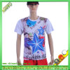 Digital Printing Cotton Fabric Bamboo Sport T Shirt Wholesale (XY-T14)