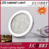 12V LED Bathroom Kitchen Under Round Cabinet Light