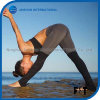 Comfortable Women Sports Leggings Stitching Color Block Fitness Pants