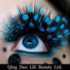 Hot Sale Fake Natural Long False Eyelashes Colorful Party Make up Eye Lashes Extension