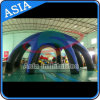 Pop up Customised 8 Legs Inflatable Blue Spider Tent Giant Inflatable Dome Tent with Cover