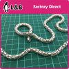 Iron Material Round Mesh Jewellery Chain