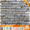 Stainless Steel and Foil Glass Mosaic for Wall (M855032)