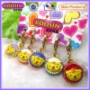 Metal Alloy Little Enamel Cake Charms #19494