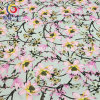Cotton Polyester Spandex Satin Printed Fabric for Garment Dress (GLLML195)