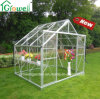 Solid Polycarbonate Clear Greenhouse Double Sliding Door (E806)