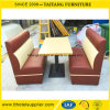 Hotsale Style Restaurant Dining Booth and Table Set