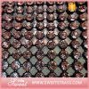 Shiny Crystal Decorative Plastic Mesh for Decorating