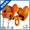 Hot Sale Made in China Hand Pull Trolley I Beam Trolley Truck