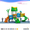 Outdoor Playground Equipment Swing Set Plastic Steel Playground