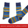 Men′s Custom Bamboo Pattern Sock