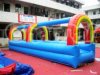 Colorful Slipway Lane Inflatable Slip and Slide Chsl218