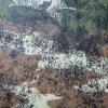 4 Color Camouflage Design for Upholstery Leather (QDL-53225)